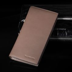 Guaranteed 100% + Genuine leather wallets MBQ9004,Designer wallets +Famous brand Manbang + Free shipping $79.80