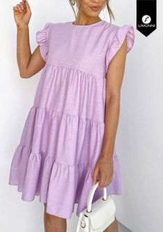 Simple Dresses, Cute Dresses, Casual Dresses, Fashion Dresses, Summer Dresses, Need Supply, Dress Anak, School Wear, Thrifting
