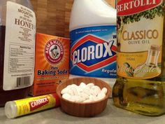 1) Toothpaste: Buff a CD/DVDApply toothpaste to a cotton ball and wipe the disc. Wash with water afterwards and you've got a brand new disc!2) Cornstarch: Untangle KnotsSprinkling cornstarch into tough knots, such as shoe laces helps loosen them.3) Walnut: Buff Dings out of Wood FurnitureGet rid of unsightly scratches and dings on wood furniture by rubbing a walnut on the areas.