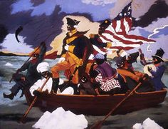 Aesthetic Circle: PAINTINGS ::: The Talented Robert Colescott