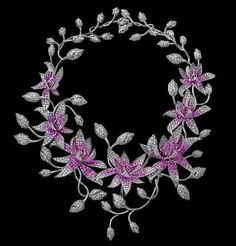 Rohit Bal Necklace, a garland of flowers
