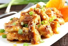 ORANGE CHICKEN In case you thought this was a thing of the past...think again! No sugar added, high in protein, fill-you-up goodness that will stand up to the restaurant stuff any day of the week....
