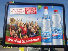 558. - Plakat in Stockach. / 10.05.2015./