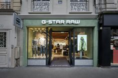 In the fashion heart of Bastille you will find the new amazingly well styled new boutique by G-Star RAW where you will find exclusiveand limited collections as G-Star Elwood RAW For The Oce…