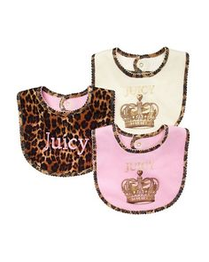 Love My JUICY couture bibs baby clothes little girl fashion baby swag