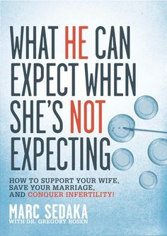 "Written by a man, for a man, ""What He Can Expect When She's Not Expecting: How To Support Your Wife, Save Your Marriage, and Conquer Infertility"" is the only infertility book a husband will ever need."