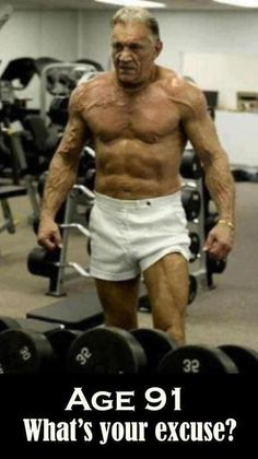 If he can be this fit at 91, what can you achieve?