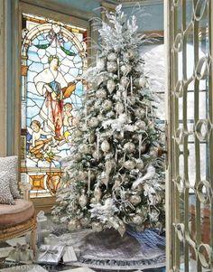 Stainglass & Tree