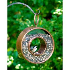Flutter Bird Feeder in Venetian Bronze