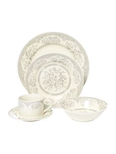 Love this dining set House Of Fraser, Online Furniture, Dining Set, Dinnerware, Home Accessories, Shabby Chic, Home And Garden, Plates, Tableware