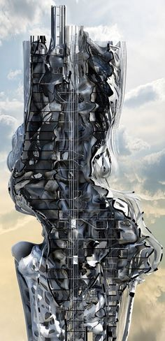 """Architecture Distortion Simulation of Gravity 