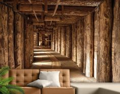 Salt mine wall mural, photo wallpaper, This giant 400 cm x 280 cm size picture display a salt mine, would you believe it? 3d Wall Murals, Mural Art, Wallpaper Pictures, Photo Wallpaper, Bedroom Wallpaper, Garage Art, Small Living Rooms, Poster Wall, Interior Design