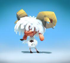 Sheep Character #sheep #character #3D