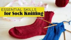 Essential Skills for Sock Knitting (with Ann Budd). Learn how to knit perfect socks in either direction (toe up or toe down). Learn solutions for every situation with heel and toe styles, shaping, cast-ons, bind-offs, troubleshooting and more. Easy Scarf Knitting Patterns, Knitted Washcloth Patterns, Knitted Washcloths, Knitted Bags, Knitting Ideas, Sweater Patterns, Knit Dishcloth, Crochet Patterns, Vogue Knitting