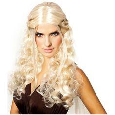 Daenerys Targaryen Dragon Princess Game of Thrones Braids Cosplay Wig – Unicorn Onesies