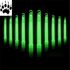 Glow Sticks, Great Deals, Hunting, Survival, Packing, Free Shipping, Green, Accessories, Bag Packaging