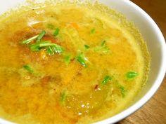 Sweet Potato Coconut Soup (Gluten-Free, Dairy-Free) --- use veggie broth.
