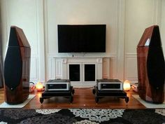 Spectral DMA 300 stereo amps , Avalon Isis speakers