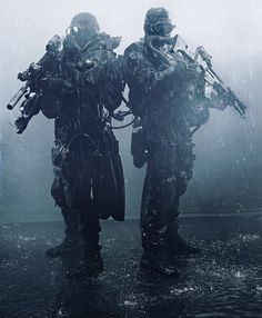 Navy seals in scuba Diving Gear Military Gear, Military Police, Usmc, Military Soldier, Ghost Soldiers, Arte Sci Fi, Military Special Forces, Navy Special Forces, Special Forces Gear