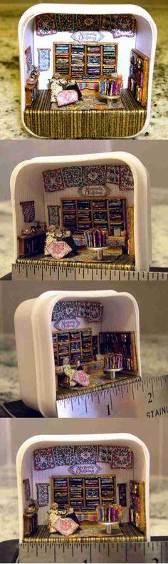 1/144 scale Quilt Shop