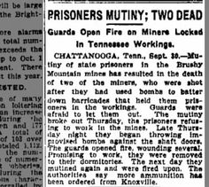 The Indianapolis Star 2 Oct 1911 Prisoners Mutiny; Two Dead