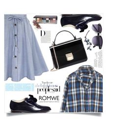 """""""Making History"""" by violet-peach ❤ liked on Polyvore featuring Delpozo and Laura Mercier"""