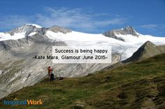 InspiredWork quote by Kate Mara