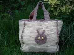 Ravelry: Eco Rabbit Bag pattern by Torya Winters Fairtrade Fortnight, Organic Cotton Yarn, Nature Color Palette, Fair Trade, Spring Time, Ravelry, Rabbit, Reusable Tote Bags, Crafty