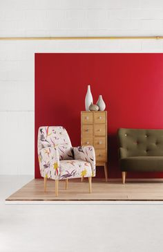 Daborn armchair with Fleur cabinet. #Habitat