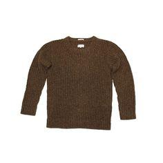 Gant Rugger Nep Melange Sweater in Dark Hunter Green, via ShopWharf