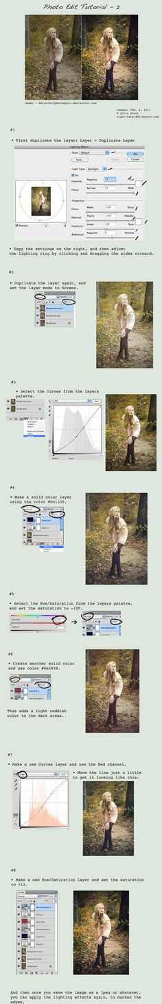 Lots of Photoshop editing tutorials