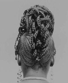 'Hairstyle Series' by J.D Okhai Ojeikere: Born in the Southwestern part of Nigeria, Ojeikere caught the 'art bug' in 1950 when he bought his first camera, a modest Brownie D and got lessons from a neighbour who taught him the rudiments of photography. 'All these hairstyles are ephemeral. I want my photographs to be noteworthy traces of them. I always wanted to record moments of beauty, moments of knowledge'. - J.D. Okhai Ojeikere