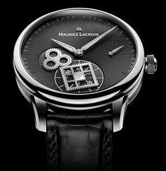 Luxury Watches | Turn a New Leaf: Maurice Lacroix Roue Carrée Seconde | The Monsieur