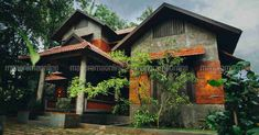 Nivruti is a prison of joy . - Before After DIY Simple House Plans, Family House Plans, Modern House Plans, House Arch Design, Kerala House Design, Kerala Traditional House, 6 Bedroom House Plans, House Architecture Styles, Kerala Houses
