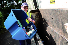 Our 55 litre Wheeled Bin Inner Caddy is coming to Birmingham! Providing double the recycling potential without taking up any more room.