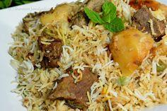 Confessions Of A Foodaholic: Mauritian Beef Biryani (Biryani de boeuf Mauricien) Top Recipes, Rice Recipes, Indian Food Recipes, Beef Recipes, Dinner Recipes, Cooking Recipes, Ethnic Recipes, Beef Biryani Recipe, Rice