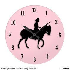 Pink Equestrian Wall