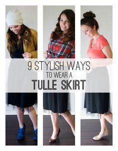 9 Stylish Ways to Wear a Tulle Skirt