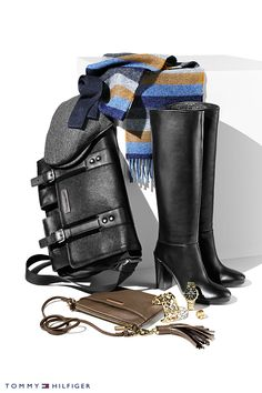 Keep it classic this fall with a little leather and add some gold hardware to accent your favorite looks.