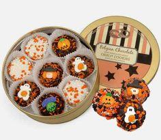 Assorted Halloween Oreo Cookie Tin