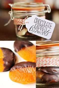 Chocolate-Dipped Apricots | 24 Delicious Food Gifts That Will Make Everyone Love You
