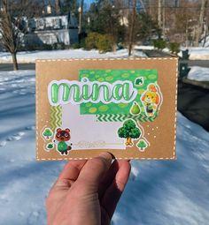 Mail Art Envelopes, Cute Envelopes, Pen Pal Letters, Cute Letters, Pretty Notes, Cute Notes, Aesthetic Letters, Snail Mail Pen Pals, Green Theme