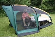 Freedom Tent: Wheelchair accessible camping