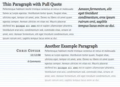 Case studies, tools, as well as a showcase of excellent CSS typography on the web.