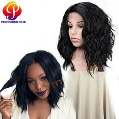 Find More Synthetic Wigs Information about Hot Sale!Freetress wigs High Quality Short Cheap Front Lace Wigs For Black Women Wave Synthetic Lace Front Bob Wig Free Shipping,High Quality wig union,China lace wig long Suppliers, Cheap wig colour from Qingdao Preferred Hair Products Co., Ltd. on Aliexpress.com