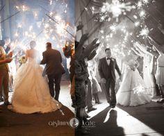 Sparkler exits  |  Mint wedding  |  City wedding  |  Aislinn Kate Photography | Wedding (Pensacola Wedding Photographer)
