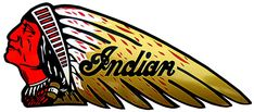 Indian motorcycle logo Indian head