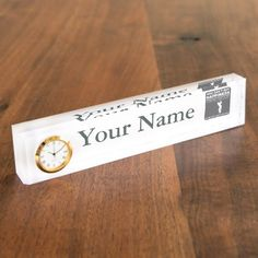 You Can't Buy Happiness Play Golf Desk Name Plate