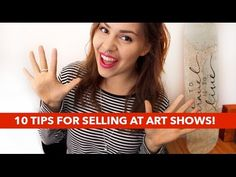 10 Tips for Selling at Art/Craft Shows! | Paige Poppe - YouTube