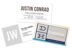 Creative business card example.